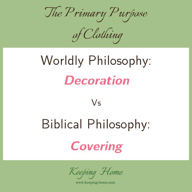 Christian Modesty 101