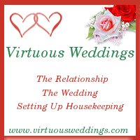 Virtuous Weddings www.virtuousweddings.com