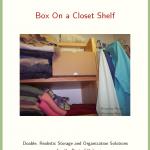 Real Life Organizing: Box On a Closet Shelf