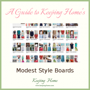 A Guide to Keeping Home's Modest Style Boards