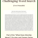 What Does Worship Mean? Challenging Word Search