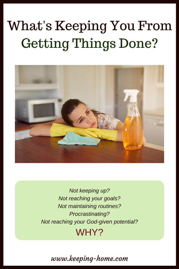 What's Keeping You From Getting Things Done?