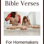 Favorite Bible Verses for Homemakers